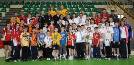 Лучшую спортивную семью полицейских определили в Новосибирске