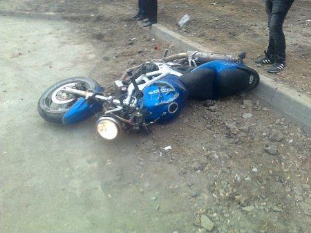 Подросток на мотоцикле разбился насмерть у «Золотой Нивы»
