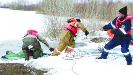 Четырехлетний ребенок провалился под лед и утонул