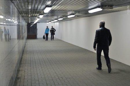 Переход на «Речном вокзале» освободили от киосков