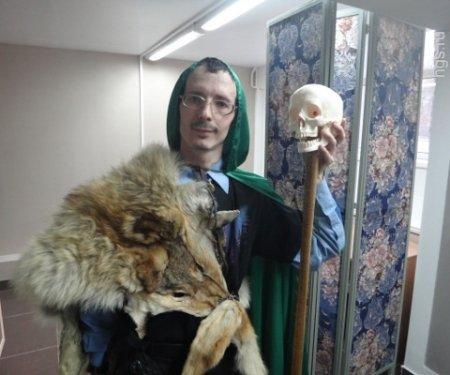 В новосибирской библиотеке открыли для читателей тайную комнату