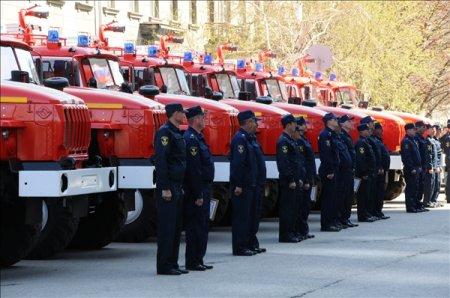Пожарные получили 15 новых автоцистерн