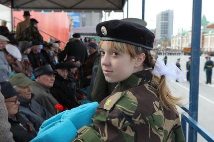 Сотни тысяч новосибирцев приняли участие в праздновании Дня Победы