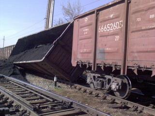 Сход вагона на Чемской: виновные оштрафованы на 1000 рублей