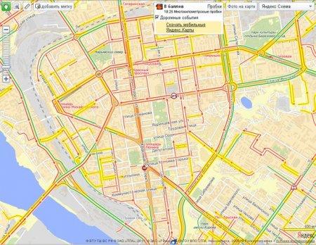 Новосибирск встал в 8-балльных пробках: центр перекрыт