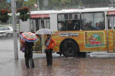 Погода в майские праздники – холод и дождь