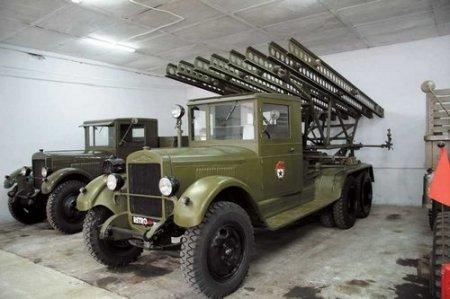 Знаменитая «Катюша» будет участвовать в выставке военной техники 9 мая в Новосибирске