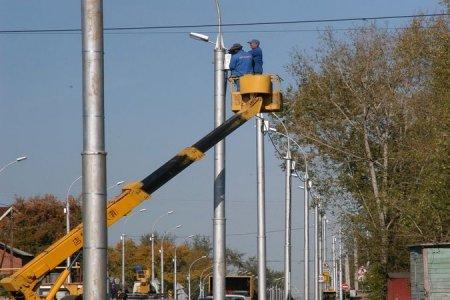В Новосибирске потратят 15 миллионов рублей на новые уличные фонари