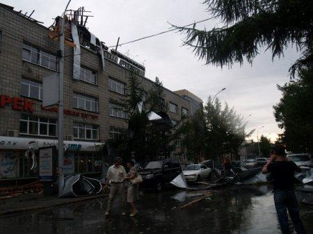 Город и область в плену у ураганов