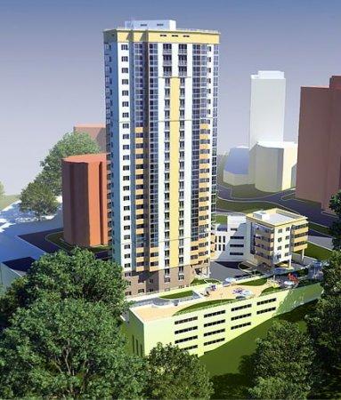 На Горском жилмассиве начали строить 24-этажный дом