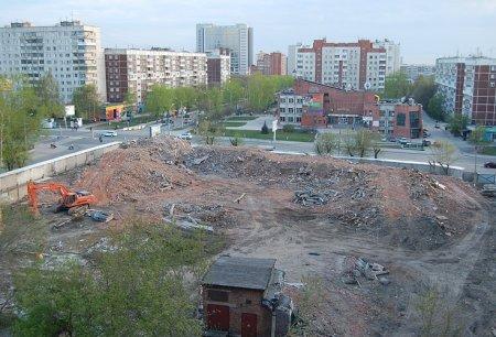 Здание психдиспансера сровняли с землей