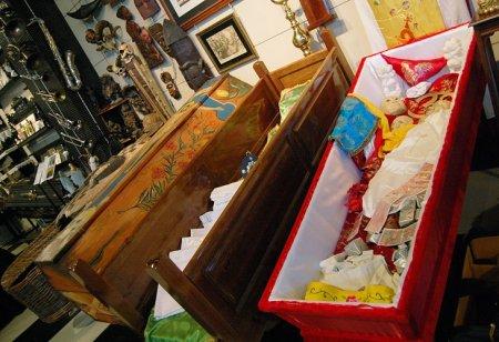 В крематории заработал Музей погребальной культуры