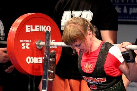 Новосибирская спортсменка побила рекорд Европы по пауэрлифтингу