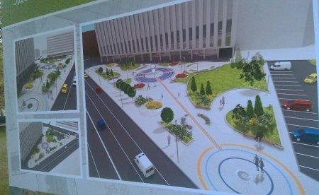 В Новосибирске презентовали проект сквера на ул.Орджоникидзе