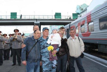 Новосибирские полицейские вернулись с Северного Кавказа