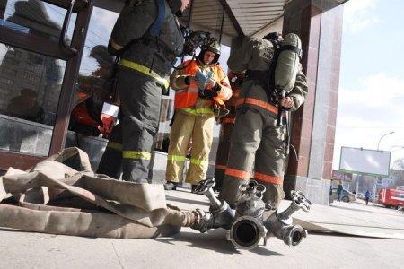 МЧС устранит последствия «теракта» в новосибирском метро