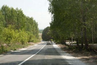 В Новосибирске открылось движение по дороге «Птицефабрика «Октябрьская» - Новолуговое»