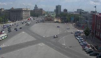 Веб камера новосибирск онлайн смотреть площадь маркса