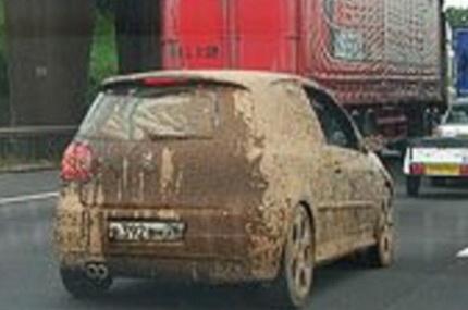 Власти Новосибирска предлагают штрафовать владельцев грязных автомобилей