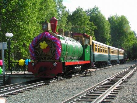 Состоялось открытие нового сезона работы Новосибирской детской железной дороги