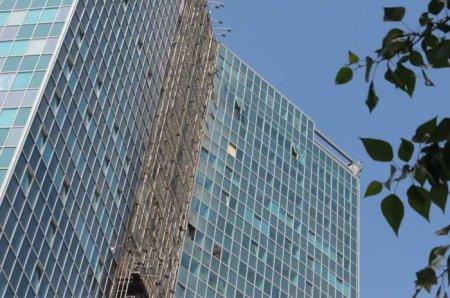 Все подробности пожара в самом высоком офисном центре Новосибирска - «Сан-Сити» почти не пострадал