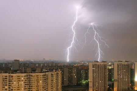 Штормовое предупреждение: Новосибирску грозят грозы и град