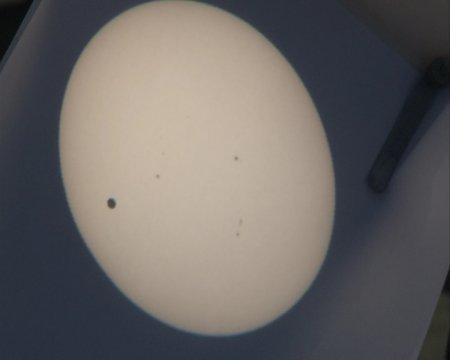 Венера прошла по диску солнца