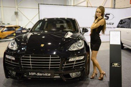 «АвтоСиб-2012»: Новосибирцам показали Ferrari за 8,2 миллиона рублей