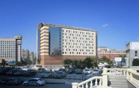 Возобновляется стройка гостиницы в центре Новосибирска