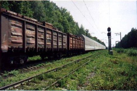 ДТП в Новосибирской области: столкнулся автомобиль и товарный поезд