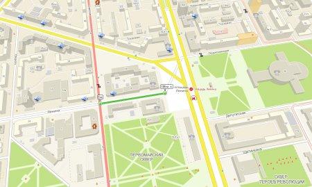 Улица Ленина закрывается на подготовку к Дню города