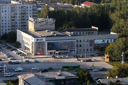 На границе Центрального и Дзержинского районов Новосибирска поставят арку