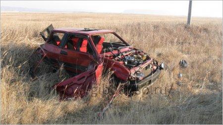 В ДТП под Новосибирском насмерть разбились трое парней