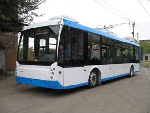 На улицы Новосибирска вышел новый троллейбус «Мегаполис»