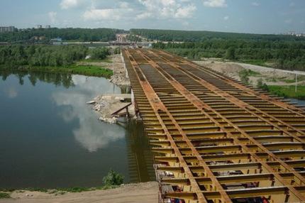 Городские власти: строительство третьего моста финансируется с опережением