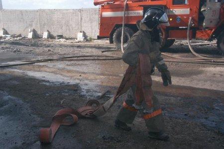 Ночью в Новосибирской области сгорела «Нива»