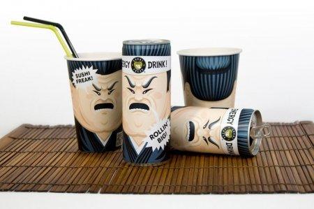 Новосибирская студия разработала дизайн для суши-бара в Калифорнии