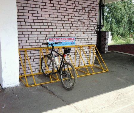 ОАО «Экспресс-пригород» открыта велопарковка на станции Барышево
