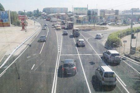 Участок Бердского шоссе расширили на одну полосу