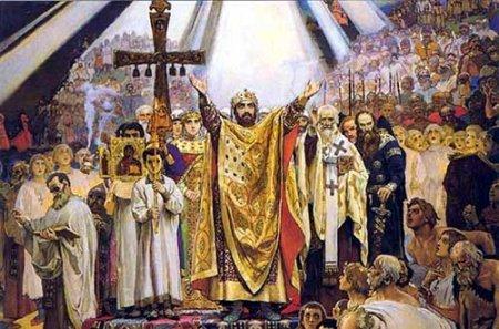 Празднование Дня Крещения Руси в Новосибирске