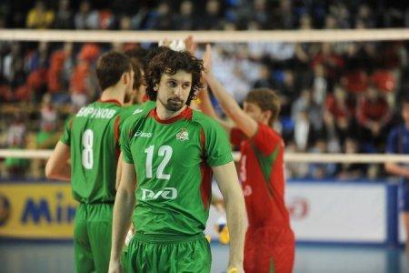 Мужская сборная России по волейболу повела в счете в матче с Германией - 1:0