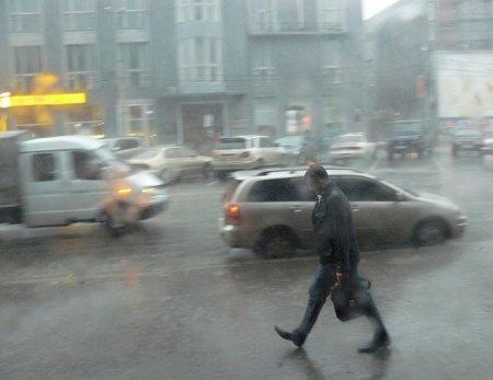 В Новосибирске пошли долгожданные дожди