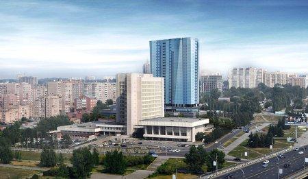 Возле метро «Октябрьская» появится 85-метровый дом редкой формы