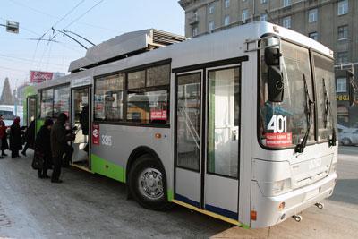 Изменение в расписании троллейбусного маршрута № 401