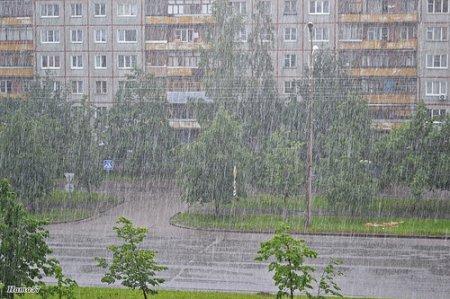 Штормовое предупреждение по Новосибирску и области