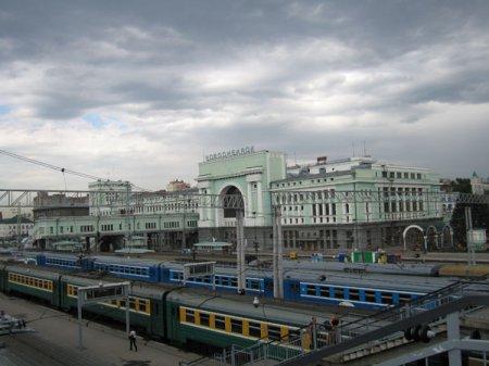День железнодорожника 2012 в Новосибирске