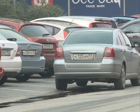 10 рублей в час за парковку в центре