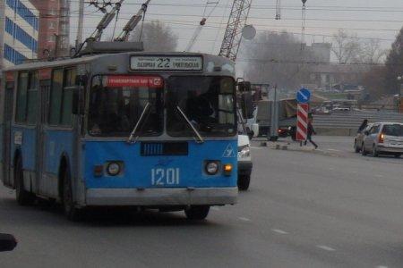 Временное изменение движения троллейбусных маршрутов