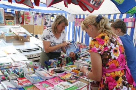В Новосибирске открывается сезон школьных ярмарок