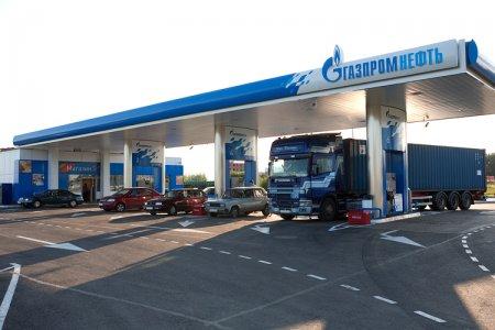 две АЗС «Газпромнефть»